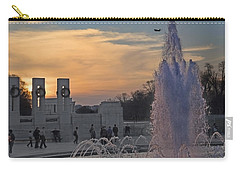 Washington Dc Rhythms  Carry-all Pouch by Betsy Knapp