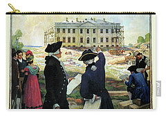Washington D C Vintage Travel 1932 Carry-all Pouch by Daniel Hagerman