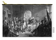 Washington Meeting His Generals Carry-all Pouch by War Is Hell Store