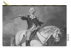 Washington Receiving A Salute At Trenton Carry-all Pouch by War Is Hell Store