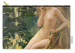 Water Nymph Carry-all Pouch by Gaston Bussiere