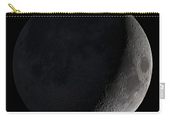 Waxing Crescent Moon Carry-all Pouch by Stocktrek Images