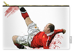 Wayne Rooney Carry-all Pouch by Armaan Sandhu
