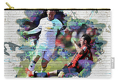 Wayne Rooney Street Art Carry-all Pouch by Don Kuing