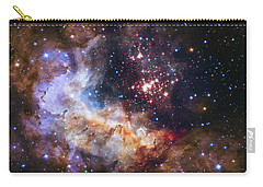 Westerlund 2 - Hubble 25th Anniversary Image Carry-all Pouch by Adam Romanowicz