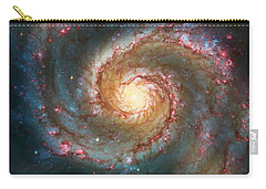 Whirlpool Galaxy  Carry-all Pouch by The  Vault - Jennifer Rondinelli Reilly