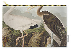 White Ibis Carry-all Pouch by John James Audubon