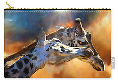 Wild Dreamers Carry-all Pouch by Carol Cavalaris