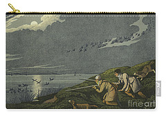 Wild Fowl Shooting Carry-all Pouch by Henry Thomas Alken