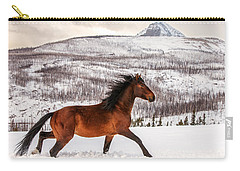 Wild Horse Carry-all Pouch by Todd Klassy