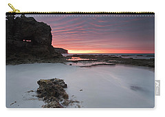 Window On Dawn Carry-all Pouch by Mike  Dawson