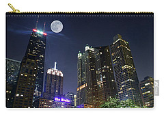 Windy City Carry-all Pouch by Frozen in Time Fine Art Photography