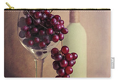 Wine On The Vine Carry-all Pouch by Tom Mc Nemar