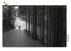 Winter Walk - Austria Carry-all Pouch by Mountain Dreams