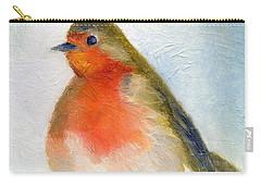 Wintry Carry-all Pouch by Nancy Moniz