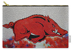 Woo Pig Sooie 2 Carry-all Pouch by Belinda Nagy