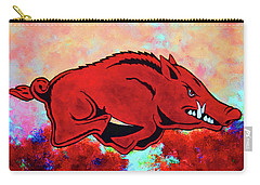 Woo Pig Sooie 3 Carry-all Pouch by Belinda Nagy