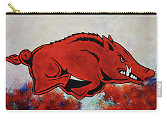 Woo Pig Sooie Carry-all Pouch by Belinda Nagy