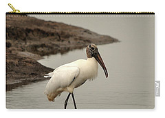 Wood Stork Walking Carry-all Pouch by Al Powell Photography USA