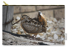 Woodcock Carry-all Pouch by Donna  Smith