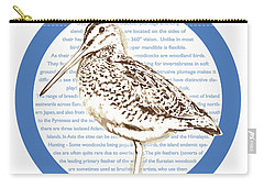 Woodcock Carry-all Pouch by Greg Joens