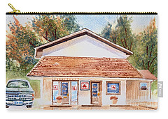 Woodcock Insurance In Watercolor  W406 Carry-all Pouch by Kip DeVore