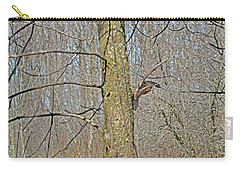 Woodcock's View Of The Forest, In-flight Carry-all Pouch by Asbed Iskedjian