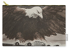 World War II Advertisement Carry-all Pouch by American School