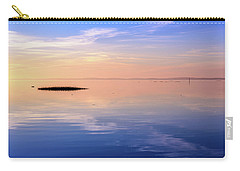 Carry-all Pouch featuring the photograph Xtra Blue by Thierry Bouriat