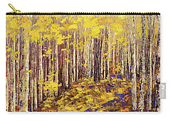 Yellow Brick Road Carry-all Pouch by Tatiana Iliina