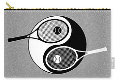 Yin Yang Tennis Carry-all Pouch by Carlos Vieira