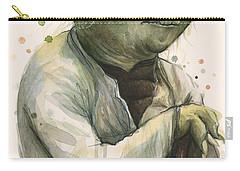 Yoda Portrait Carry-all Pouch by Olga Shvartsur
