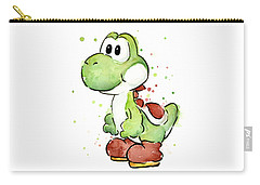 Yoshi Watercolor Carry-all Pouch by Olga Shvartsur