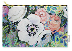 You Had Me At Hello Carry-all Pouch by Kristin Whitney