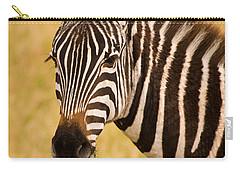 Zebra Carry-all Pouch by Adam Romanowicz