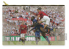 Zlatan Ibrahimovic Header Carry-all Pouch by Don Kuing