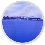 Tidal Basin Washington Dc Round Beach Towel by Panoramic Images