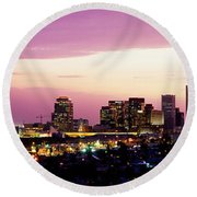 Phoenix Az Round Beach Towel by Panoramic Images