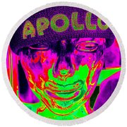 Apollo Abstract Round Beach Towel by Ed Weidman