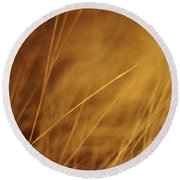 Aurum Round Beach Towel by Priska Wettstein