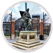 Babes Dream - Camden Yards Round Beach Towel by Bill Cannon