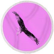 Birds Of Prey Round Beach Towel by Toppart Sweden