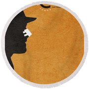 Chinatown Round Beach Towel by Ayse Deniz