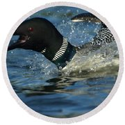Don't Mess With Mom Round Beach Towel by James Peterson