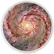 Galactic Whirlpool Round Beach Towel by Benjamin Yeager