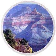 Grand Canyon Round Beach Towel by Randy Follis