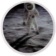 Interstellar Round Beach Towel by Dan Sproul