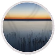 Just Before Dawn Round Beach Towel by Scott Norris