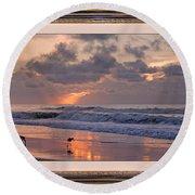 Lifetime Love Round Beach Towel by Betsy Knapp