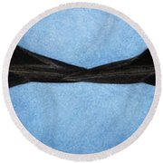 Loons Round Beach Towel by Pat Erickson